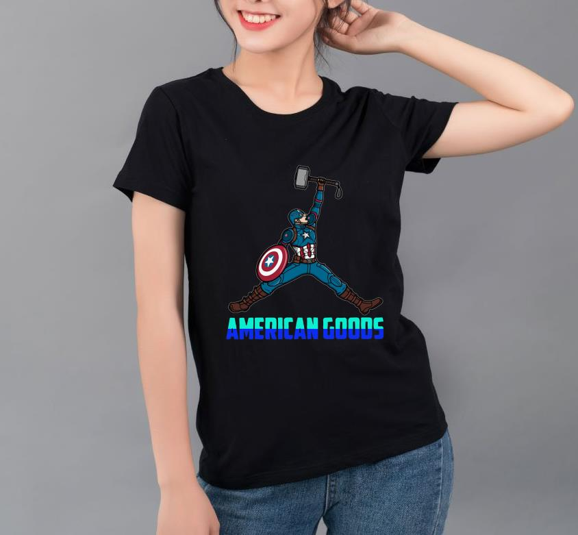 Official Captain America Air Rogers American Goods shirt