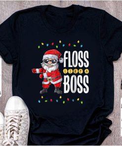 Official Floss Like A Boss Flossing Santa Claus shirt 1 1 247x296 - Official Floss Like A Boss Flossing Santa Claus shirt