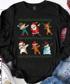 Official Funny Dabbing Santa Bulldog And Friends Christmas shirt 1 1 247x296 - Official Funny Dabbing Santa Bulldog And Friends Christmas shirt