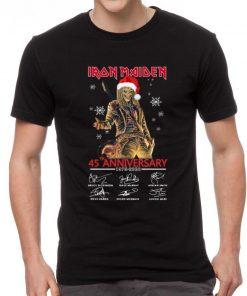 Official Iron Maiden Santa 45th Anniversary Signatures Christmas shirt 2 1 247x296 - Official Iron Maiden Santa 45th Anniversary Signatures Christmas shirt