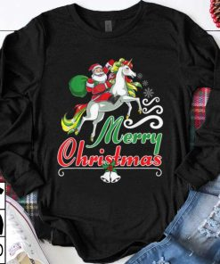Official Merry Christmas Santa on a Unicorn Girls Kids Youth Women shirt 1 1 247x296 - Official Merry Christmas Santa on a Unicorn Girls, Kids, Youth, Women shirt