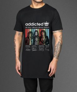 Original Addicted all day I dream about Queen Vintage Signatures shirt 2 1 247x296 - Original Addicted all day I dream about Queen Vintage Signatures shirt