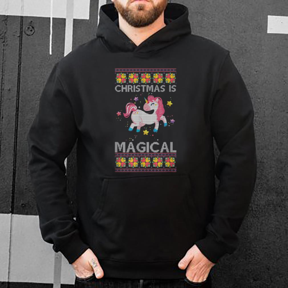 Original Christmas Is Unicorn Ugly Christmas shirt