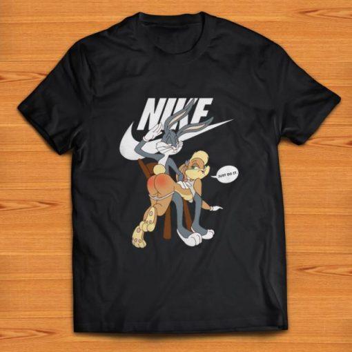 Original Nike Bugs Bunny spanking Lola Just Do It shirt 1 1 510x510 - Original Nike Bugs Bunny spanking Lola Just Do It shirt