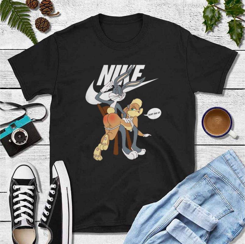 Original Nike Bugs Bunny spanking Lola Just Do It shirt