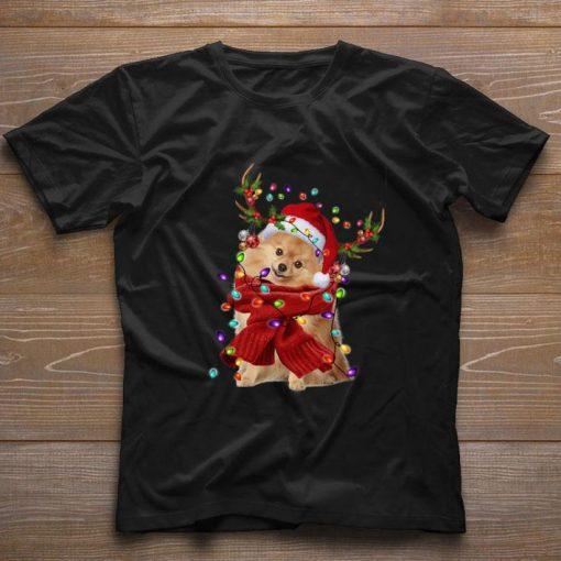 Pomeranian Reindeer Christmas shirt 1 1 510x510 - Pomeranian Reindeer Christmas shirt