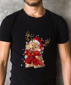 Pomeranian Reindeer Christmas shirt 2 1 247x296 - Pomeranian Reindeer Christmas shirt