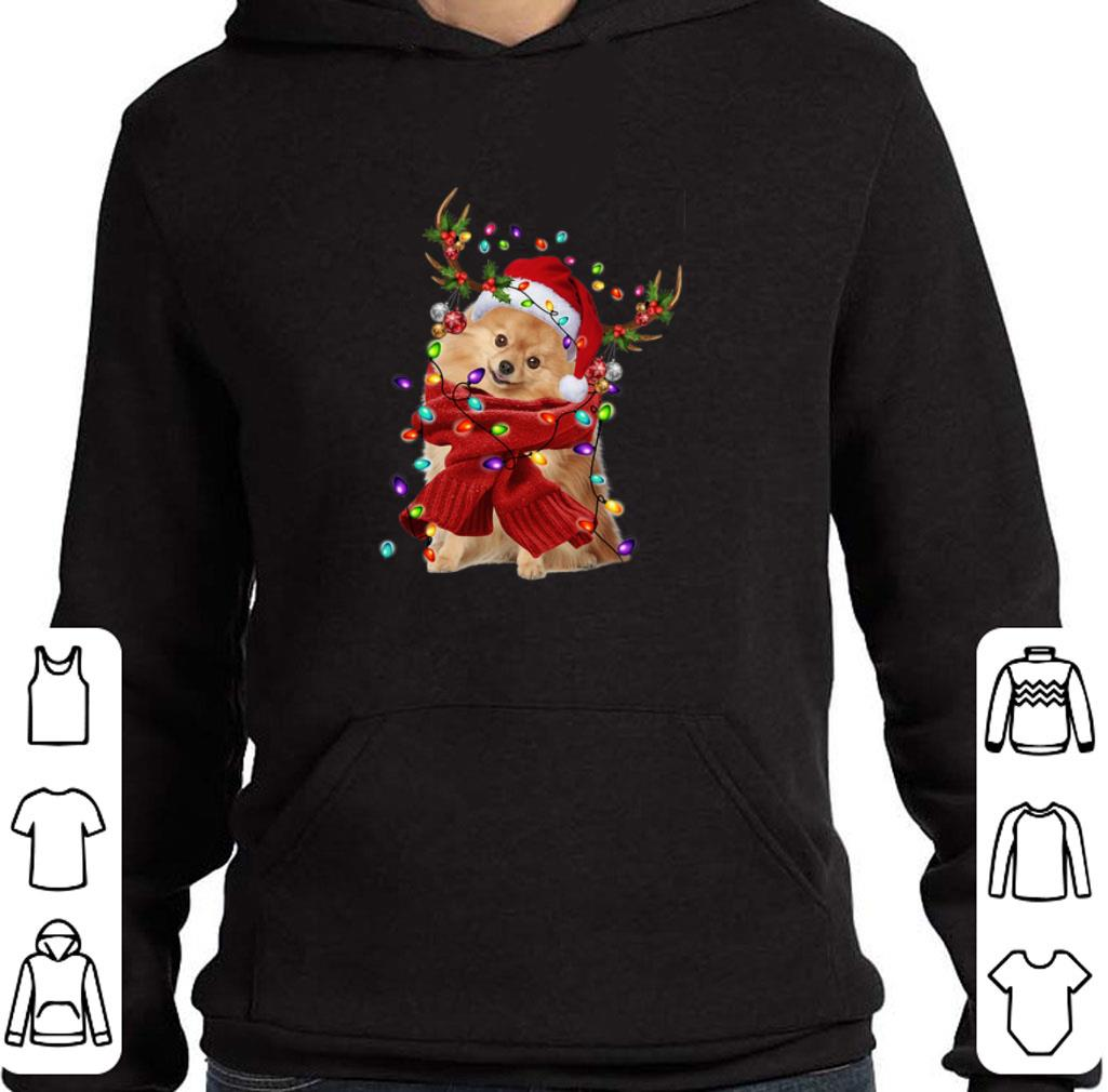 Pomeranian Reindeer Christmas shirt