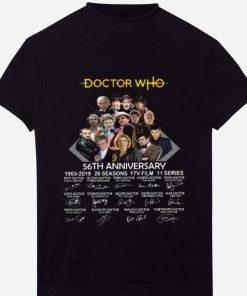Premium Doctor Who 56th Anniversary 1963 2019 signatures shirt 1 1 247x296 - Premium Doctor Who 56th Anniversary 1963 2019 signatures shirt
