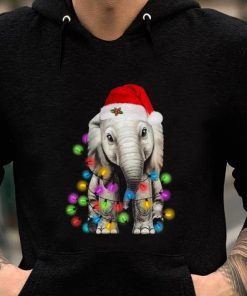 Premium Elephant Santa Light Christmas shirt 2 1 247x296 - Premium Elephant Santa Light Christmas shirt