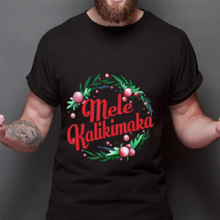 Merry Christmas Mele Kalikimaka shirt