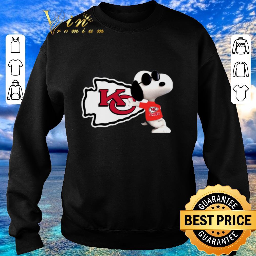 Premium Snoopy Kansas City Chiefs shirt