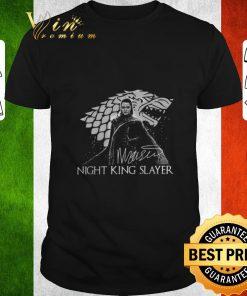 Pretty Arya Stark Night King Slayer signature shirt 1 1 247x296 - Pretty Arya Stark Night King Slayer signature shirt