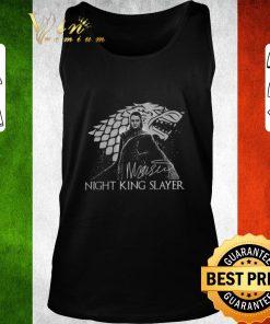Pretty Arya Stark Night King Slayer signature shirt 2 1 247x296 - Pretty Arya Stark Night King Slayer signature shirt