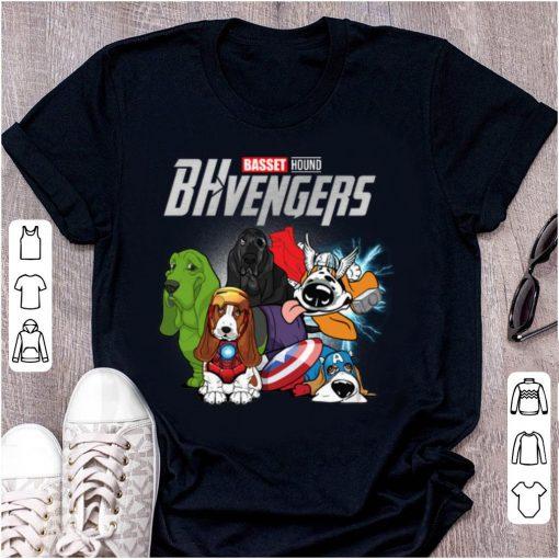 Pretty Basset Hound BHvengers Marvel Avengers Endgame shirt 1 1 510x510 - Pretty Basset Hound BHvengers Marvel Avengers Endgame shirt
