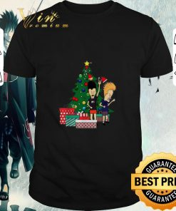Pretty Beavis and Butthead around the Christmas tree ugly shirt 1 1 247x296 - Pretty Beavis and Butthead around the Christmas tree ugly shirt