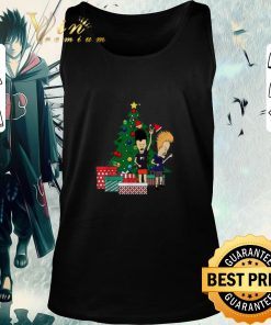 Pretty Beavis and Butthead around the Christmas tree ugly shirt 2 1 247x296 - Pretty Beavis and Butthead around the Christmas tree ugly shirt