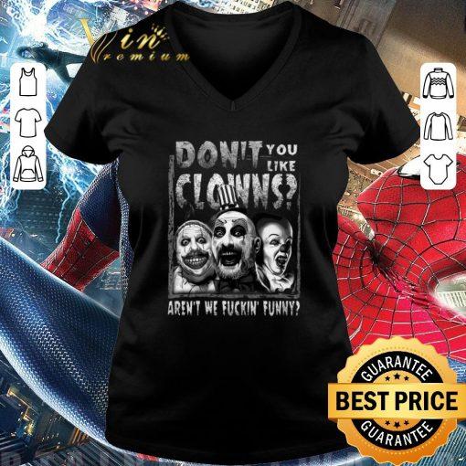 Pretty Captain Spaulding don t you like clowns aren t we fuckin funny shirt 3 1 510x510 - Pretty Captain Spaulding don't you like clowns aren't we fuckin' funny shirt