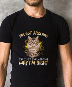 Pretty Cat i m not arguing i m just explaining why i m right shirt 2 1 247x296 - Pretty Cat i'm not arguing i'm just explaining why i'm right shirt