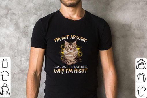 Pretty Cat i m not arguing i m just explaining why i m right shirt 2 1 510x340 - Pretty Cat i'm not arguing i'm just explaining why i'm right shirt