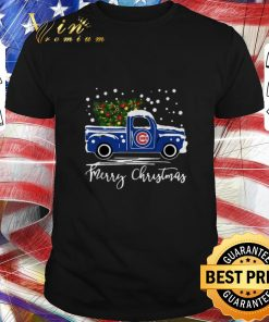 Pretty Chicago Cubs truck Merry Christmas shirt 1 1 247x296 - Pretty Chicago Cubs truck Merry Christmas shirt
