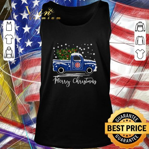 Pretty Chicago Cubs truck Merry Christmas shirt 2 1 510x510 - Pretty Chicago Cubs truck Merry Christmas shirt
