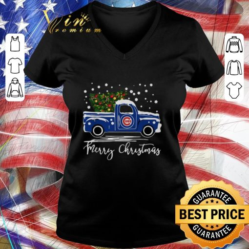 Pretty Chicago Cubs truck Merry Christmas shirt 3 1 510x510 - Pretty Chicago Cubs truck Merry Christmas shirt