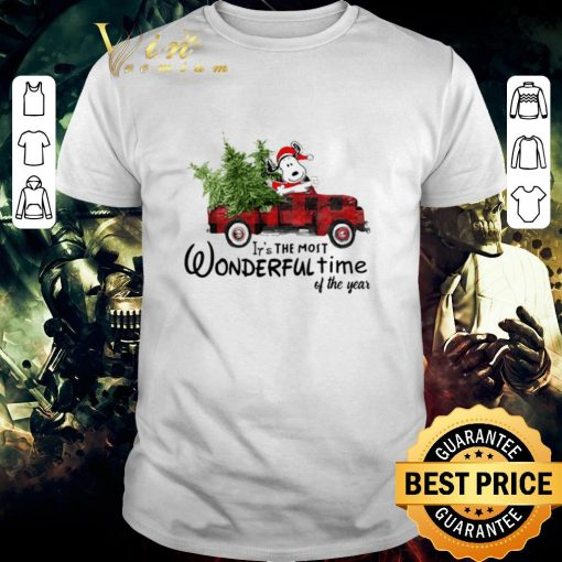 Pretty Snoopy Truck It s The Most Wonderful Time Of The Year Christmas shirt 1 1 510x510 - Pretty Snoopy Truck It's The Most Wonderful Time Of The Year Christmas shirt