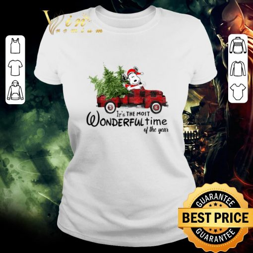 Pretty Snoopy Truck It s The Most Wonderful Time Of The Year Christmas shirt 2 1 510x510 - Pretty Snoopy Truck It's The Most Wonderful Time Of The Year Christmas shirt