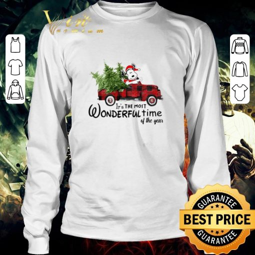 Pretty Snoopy Truck It s The Most Wonderful Time Of The Year Christmas shirt 3 1 510x510 - Pretty Snoopy Truck It's The Most Wonderful Time Of The Year Christmas shirt