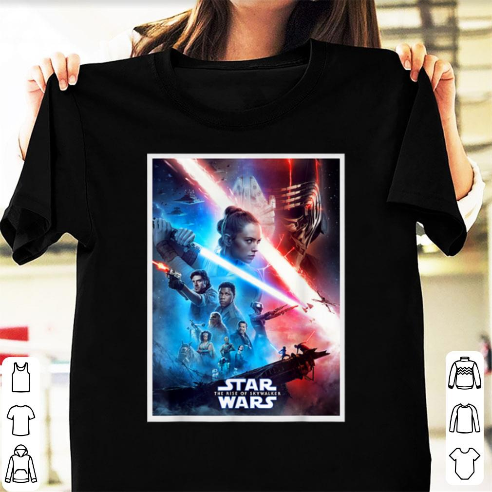 Pretty The Rise Of Skywalker Characters Movie Poster Star Wars Shirt Kutee Boutique