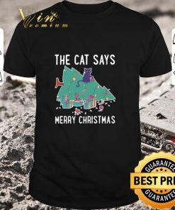 Pretty The cat says Merry Christmas shirt 1 1 247x296 - Pretty The cat says Merry Christmas shirt