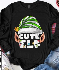 Top Cute Elf Matching Family Christmas Elf Costume Gift for Kids shirt 1 1 247x296 - Top Cute Elf Matching Family Christmas Elf Costume Gift for Kids shirt