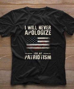 American flag i will never apologize for my patriotism shirt 1 1 247x296 - American flag i will never apologize for my patriotism shirt