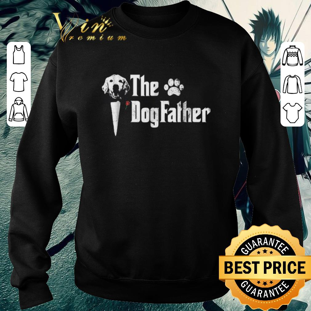 Awesome Golden Retriever The Dogfather The Godfather shirt