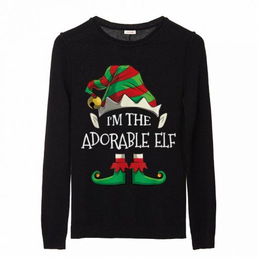Awesome I m The Adorable Elf Family Matching Christmas Gifts sweater 2 1 510x510 - Awesome I'm The Adorable Elf Family Matching Christmas Gifts sweater