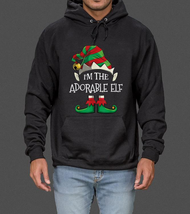Awesome I'm The Adorable Elf Family Matching Christmas Gifts sweater