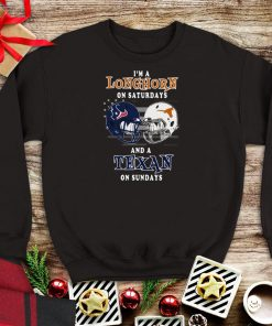 Awesome I m a Longhorn on Saturdays and a Texan on Sundays shirt 1 1 247x296 - Awesome I'm a Longhorn on Saturdays and a Texan on Sundays shirt