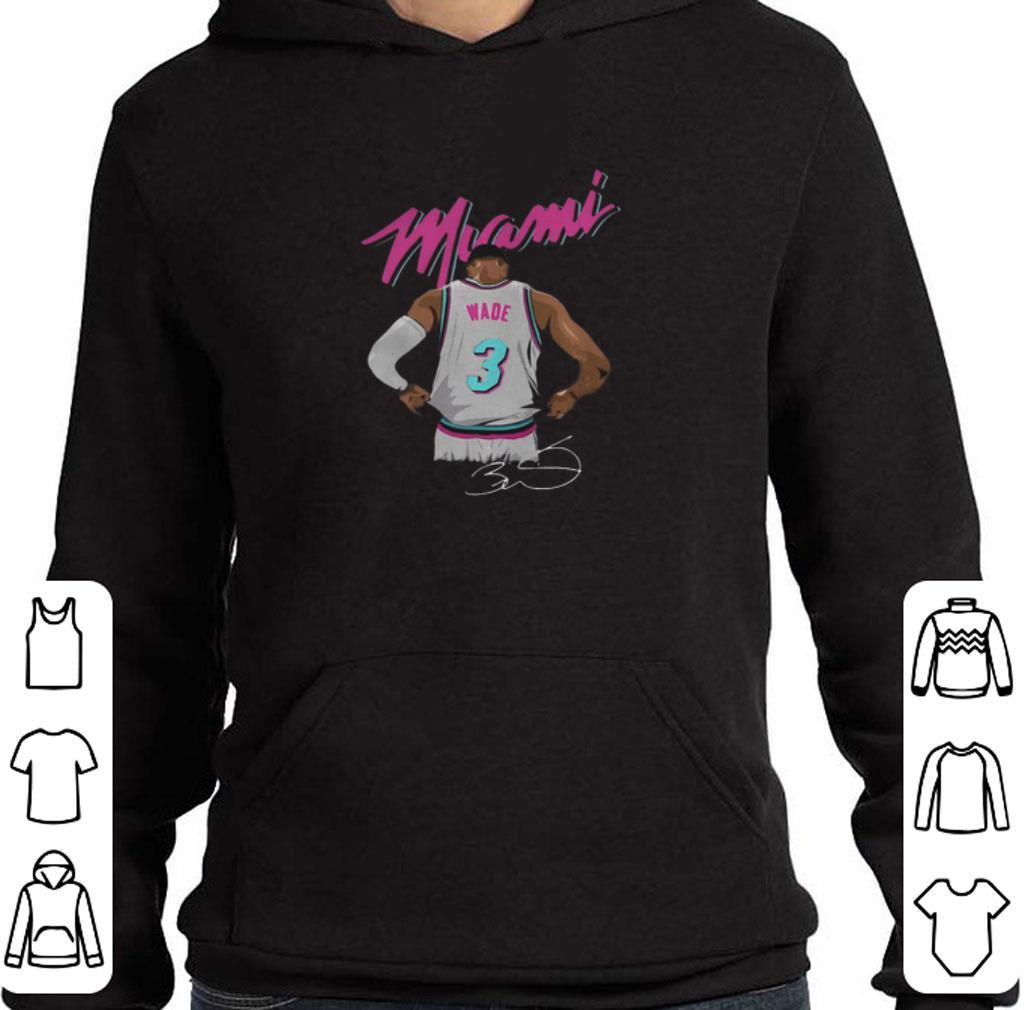 Dwyane Wade Miami Heat Basketball signature shirt