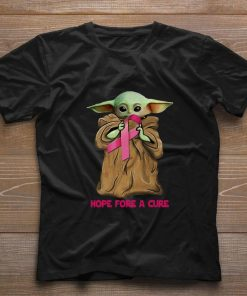 Funny Baby Yoda hope fore a cure Breast Cancer shirt 1 1 247x296 - Funny Baby Yoda hope fore a cure Breast Cancer shirt