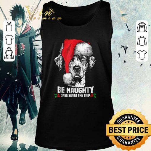 Funny Dog be naughty save santa the trip Christmas shirt 2 1 510x510 - Funny Dog be naughty save santa the trip Christmas shirt