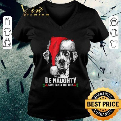 Funny Dog be naughty save santa the trip Christmas shirt 3 1 510x510 - Funny Dog be naughty save santa the trip Christmas shirt