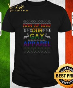Funny LGBT Don we now our gay apparel ugly Christmas sweater 1 1 247x296 - Funny LGBT Don we now our gay apparel ugly Christmas sweater