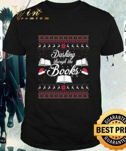 Funny Librarians Dashing through the books ugly Christmas sweater 1 1 247x296 - Funny Librarians Dashing through the books ugly Christmas sweater