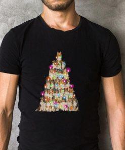 Funny Sheltie paws tree Christmas lights shirt 2 1 247x296 - Funny Sheltie paws tree Christmas lights shirt