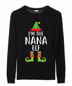 Great I m The Nana Elf Matching Family Group Christmas sweater 2 1 247x296 - Great I'm The Nana Elf Matching Family Group Christmas sweater
