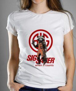 Great Rocket Raccoon Marvel Sig Sauer When It Counts shirt 1 1 247x296 - Great Rocket Raccoon Marvel Sig Sauer When It Counts shirt