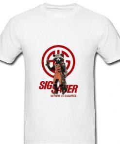 Great Rocket Raccoon Marvel Sig Sauer When It Counts shirt 2 1 247x296 - Great Rocket Raccoon Marvel Sig Sauer When It Counts shirt