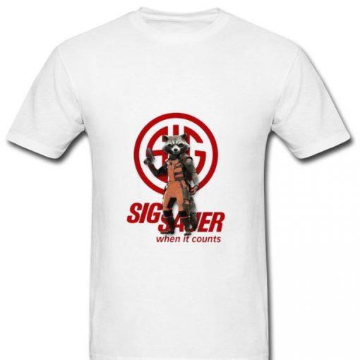 Great Rocket Raccoon Marvel Sig Sauer When It Counts shirt 2 1 510x510 - Great Rocket Raccoon Marvel Sig Sauer When It Counts shirt