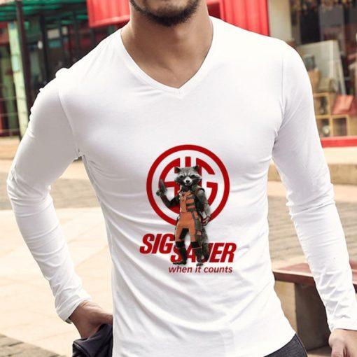 Great Rocket Raccoon Marvel Sig Sauer When It Counts shirt 3 1 510x510 - Great Rocket Raccoon Marvel Sig Sauer When It Counts shirt